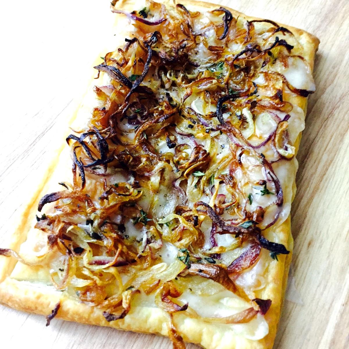 ... onion tart savory caramelized onion mushroom and thyme tart onion tart